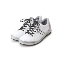 エコー ECCO ECCO MEN'S GOLF BIOM HYBRID 2 (WHITE/BLACK)