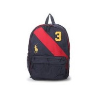 ポロラルフローレン POLO RALPH LAUREN POLO RALPH LAUREN BANNER STRIPE II BACKPACK LG (NAVY)