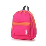 ポロラルフローレン POLO RALPH LAUREN POLO RALPH LAUREN CAMP BACKPACK SM (ULTRA PINK)