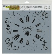 """Crafter's Workshop Template 12""""X12""""-Bee On Time (並行輸入品)"""