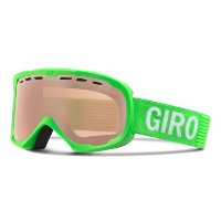 (取寄)ジロ フォーカス フラッシュ スキー ゴーグル Giro Men's Focus Flash Ski Goggles Bright Green Monotone/Rose Silver