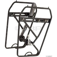 Axiom Journey DLX Low Rider Front Rack Black by Axiom