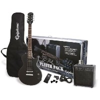 Epiphone エピフォン エレキギター Ebony Player Pack Les Paul Special II