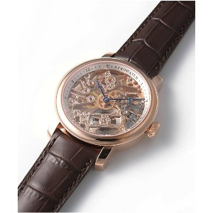 <AEROWATCH(アエロウォッチ)> AEROWATCH RENAISSANCE BIG MECHANICAL SKELETON 腕時計~~メンズ 腕時計