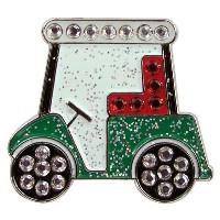 Navika Golf Cart Swarovski Crystal Ball Marker with Hat Clip [並行輸入品]