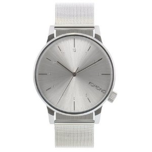 コモノ KOMONO Men's Winston Royale Watch Silver/Silver One Size 女性 レディース 腕時計 【並行輸入品】