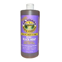 Dr. Woods - Dr. Woods Shea Vision Pure Black Soap with Organic Shea Butter - 32 fl oz by Dr. Woods...