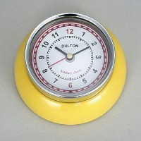 [DULTON]ダルトン KITCHEN CLOCK YELLOW 100-193YL