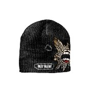 Billy Talent Logo Distressed Reveal Tears 公式 新しい ブラック ビーニーハット