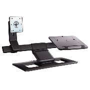 HP Display and Notebook Stand ノートパソコン 用 デュアル ディスプレイ モニタ-スタンド AW662AA-UUF