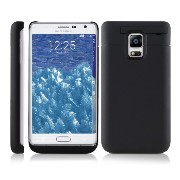 kwmobile バッテリーパックケース Samsung Galaxy Note Edge用 容量: 5200mAh 出力: 5V/500mA 黒色 Samsung Galaxy Note...