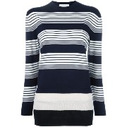 J.W.Anderson layered striped pullover