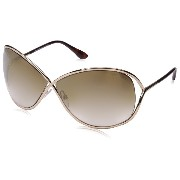 TOM FORD FT0130 Sunglasses 28G Shiny Rose Gold 68-10-115