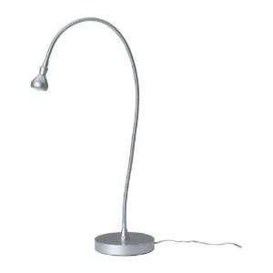 Ikea Jansjo Flexible Desk Work Led Lamp Light - Silver by Ikea