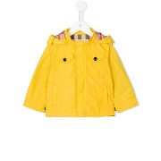 Burberry Kids hooded raincoat