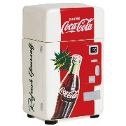 Westland Giftware Coca-Cola Vending Machine Canister, 8-Inch, Refresh Yourself 並行輸入