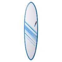 "NSP 2016 SURFBOARD Elements FUNBOARD 7'2"" BLUE C304472"