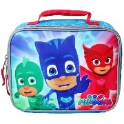 PJ MASKS GECKO, CATBOY & OWLETTE Boys Lead-Free Insulated Lunch Tote Box by Frog Box