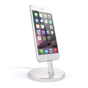 Satechi アルミニウム iPhone 充電スタンド iPhone 5 / 5S / 5C / 6 / 6s / 6 Plus / 6s Plus / 7 / 7 Plus / iPod...
