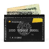 The Black カード 紙 財布 スリム Card Paper Wallet Slim The Walart Mighty Tyvek Dynomighty
