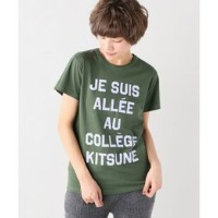 MAISON KITSUNE TEE JE SUIS ALLEE【イエナ/IENA Tシャツ・カットソー】