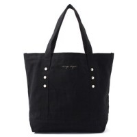 PEARL TOTE L BK【メランジェ マガザン/Melanger Magasin トートバッグ】