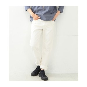 orslow / IVYFIT DENIM WHITE【ビームス ウィメン/BEAMS WOMEN デニム】