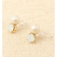 cotton pearl◇bijou simple ear cuff【ワームス/warmth イヤリング】