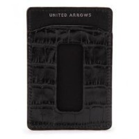 <BOW&ARROWS(ボウ&アローズ)> STAMP PASS CASE【ユナイテッドアローズ/UNITED ARROWS 定期入れ】