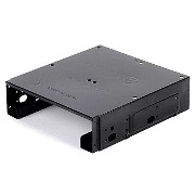SilverStone SST-SDP10B 5インチベイ用マウンタ【Support one 3.5インチ HDD and two 2.5インチ HDD/SSD】