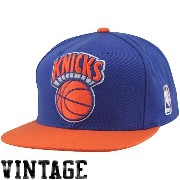 (ミッチェルアンドネス) Mitchell & Ness NEW YORK KNICKS SNAPBACK CAP(BLUE×ORANGE)【並行輸入品】