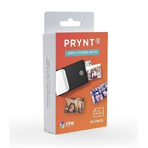 Prynt, 2x3 inch ZINK Sticker Paper for The Prynt Case Instant Photo Printer - 50 pack (PP00001) by...