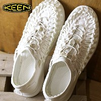 KEEN キーン ユニーク O2 サンダル メンズ UNEEK O2 MNS White/Harvest Gold (1017054 SS17)【コンビニ受取対応商品】 shoetime