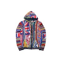 COOGI FLAG ZIP SWEATER (C65280: FLAG)クージー/ZIPフーディーセーター