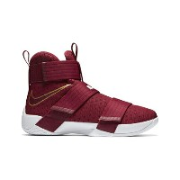 "バスケットシューズ バッシュ ナイキ Nike Zoom Soldier 10 EP ""Christ The King"" T.Red/M.Gold/O.Wht"
