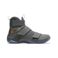 "バスケットシューズ バッシュ ナイキ Nike Zoom Soldier 10 ""Battle Grey collection"" W.Gry/Gold/D.Gry"