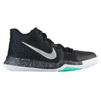 "Nike Kyrie 3 ""Black Ice"" キッズ/レディース Black/White/Total Crimson/Dark Grey ナイキ カイリー3 Kyrie Irving カイリー..."