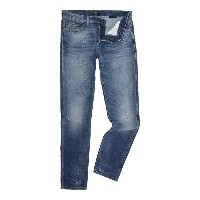 ヒューゴボス メンズ ボトムス ジーンズ【Hugo Boss Delaware slim fit light wash jeans】Denim Light Wash