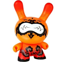 キッドロボット Kidrobot おもちゃ 【Kidrobot x Andrew Bell Orange Drop 20 Inch Dunny Figure 】