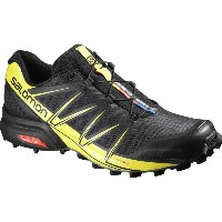 サロモン Salomon メンズ ランニング シューズ・靴【Speedcross Pro Trail Running Shoe】Black/Black/Corona Yellow