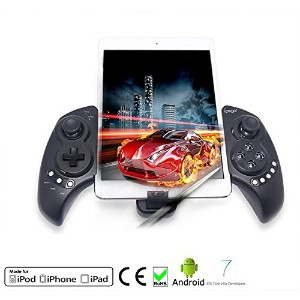Megadream アンドロイド Android ブルートゥース Gampad Wireless Telescopic ゲーム Control Pad Joystick for Smartphone...
