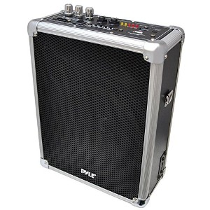 PYLE-プロ PWMA160 デュアル Channel 400 ワット Wireless PA System with USB/SD, Wireless Microphones (1...