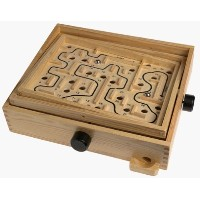 Wooden Labyrinth Puzzle Maze Game - Educational by Playskool