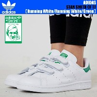 最大2,000円OFFクーポン発行中!adidas Originals STAN SMITH CF Running White/Running White/Green【アディダス スニーカー...