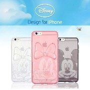 【Disney / ディズニー】iPhone6 iPhone6s / 6PLUS iPhone6sPlus / Disney clear jelly case【 アイフォン6s ケース カバー...