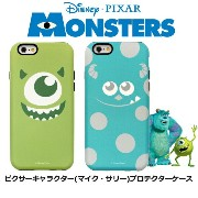 【 Disney / ディズニー 】iPhone6 iPhone6s / iPhone6Plus / 6sPlus / iPhone7 / iPhone7Plus 対応 ピクサー【 Monsters...