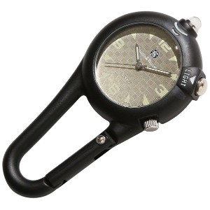 [Smith & Wesson]スミス&ウェッソン ミリタリー時計 CARABINER CLASSIC WATCH BLACK SWW-36-BLK [正規品]