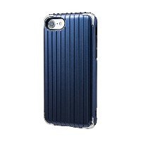 "GRAMAS COLORS ""Rib 2"" Hybrid Case for iPhone 7/7 Plus (iPhone 7, Navy)"