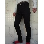 "Nudie Jeans(ヌーディー ジーンズ)【THIN FINN】C/#470""LOW YOKE THIN SKINNY LEGS""""DRY COLD BLACK""ストレッチ混スリムスキニー..."