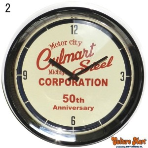 WALL CLOCK 50TH ANNIVERSARY